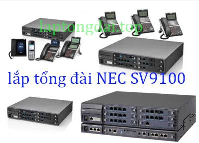 lắp tổng đài NEC SV9100