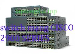 thiết bị switch mạng cisco