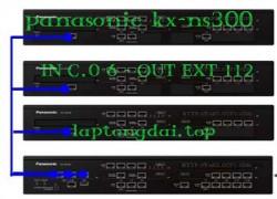 tổng đài Panasonic KX-NS300-6-112