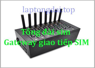 tổng đài sim Gateway