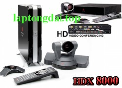 lắp thiết bị hội nghị truyền hình Polycom hdx 8000