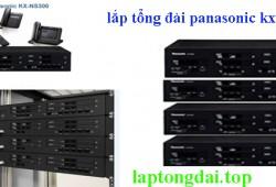 Thi công tổng đài panasonic kx-ns300 từ 16 đến 128 số máy lẻ nội bộ