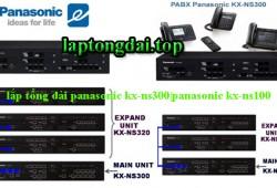 Dịch vụ lắp tổng đài panasonic kx-ns300|panasonic kx-ns1000