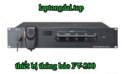 Thiết bị hệ thống âm thanh Toa cho hệ thống thông báo khẩn cấp dòng FV-200
